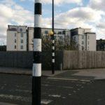 イギリスの歩行者優先の横断歩道 クイーンライト