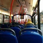 エディンバラ空港から市街へ、バスやトラムの値段と所要時間の比較。